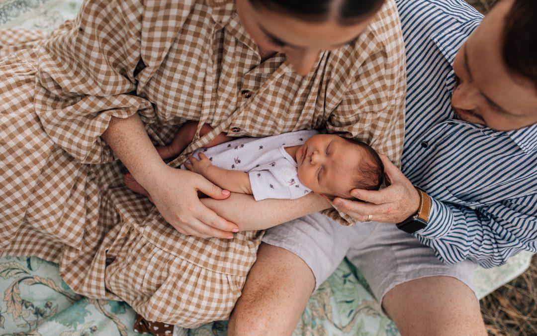 Lillian's Newborn Lifestyle Session